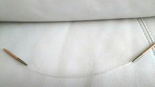非対称ミニ輪針編み物ブログ