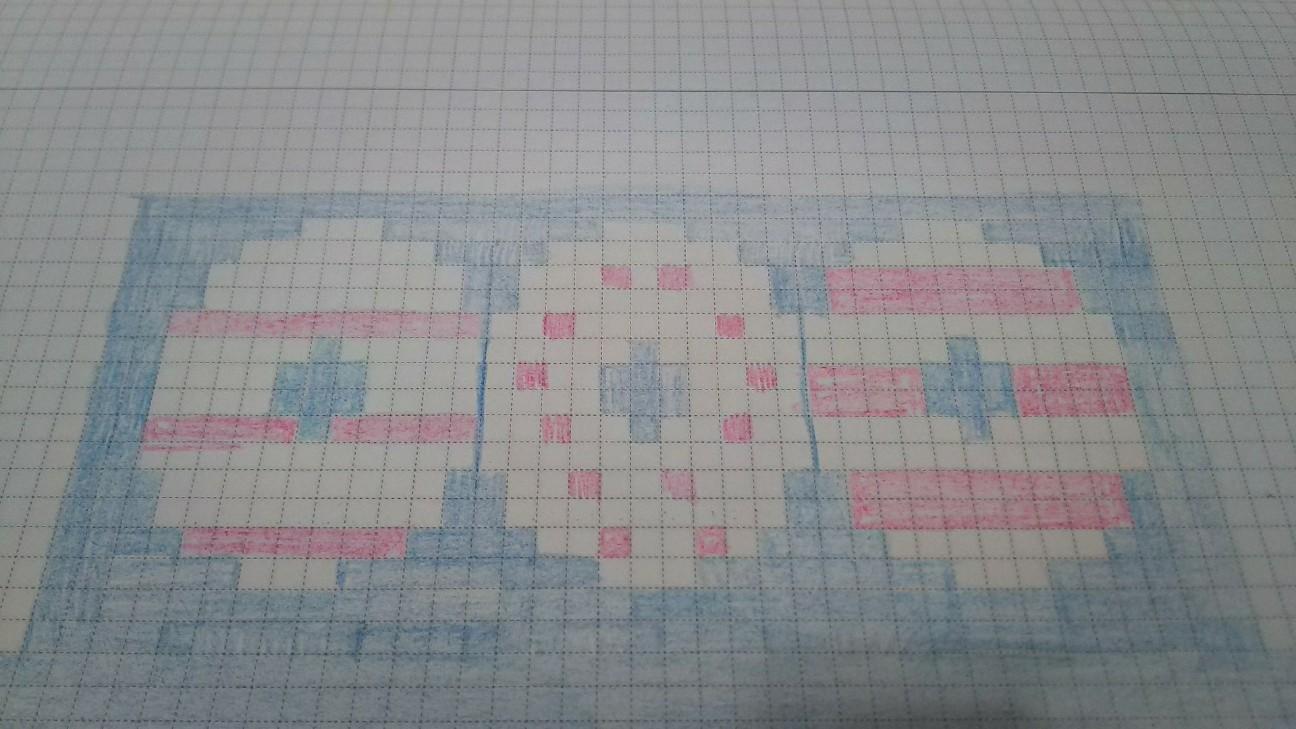 浮き輪編み図