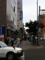 ヨドバシカメラ札幌店前の交差点から北を望む