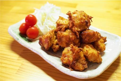 鶏むね肉の柔らかい唐揚げ
