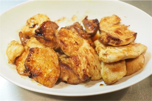 鶏むね肉の調理後
