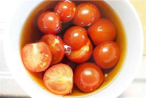 トマトめんつゆ