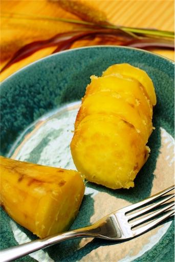 レンジで焼き芋