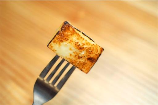 ベビーチーズの炙り