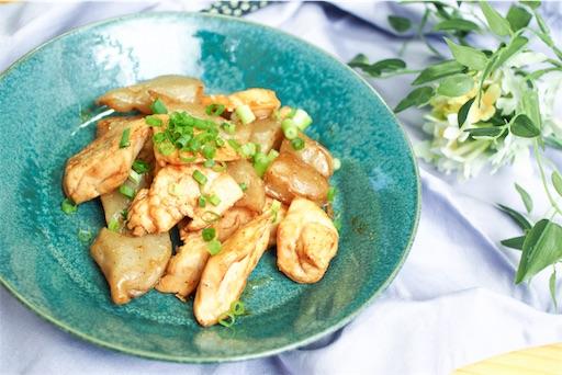 鶏むね肉とこんにゃくのオリエンタル炒めの画像