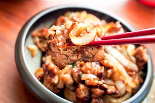 豚もも肉の生姜焼き