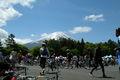 [自転車]祭りの後