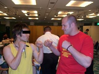 master_kとヒョードル選手
