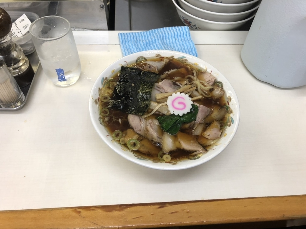 秋葉原_青島食堂_青島チャーシューラーメン美味しい