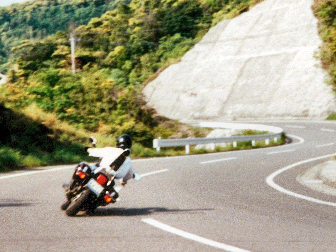 ホンダGL400ウイングカスタムのアップ写真