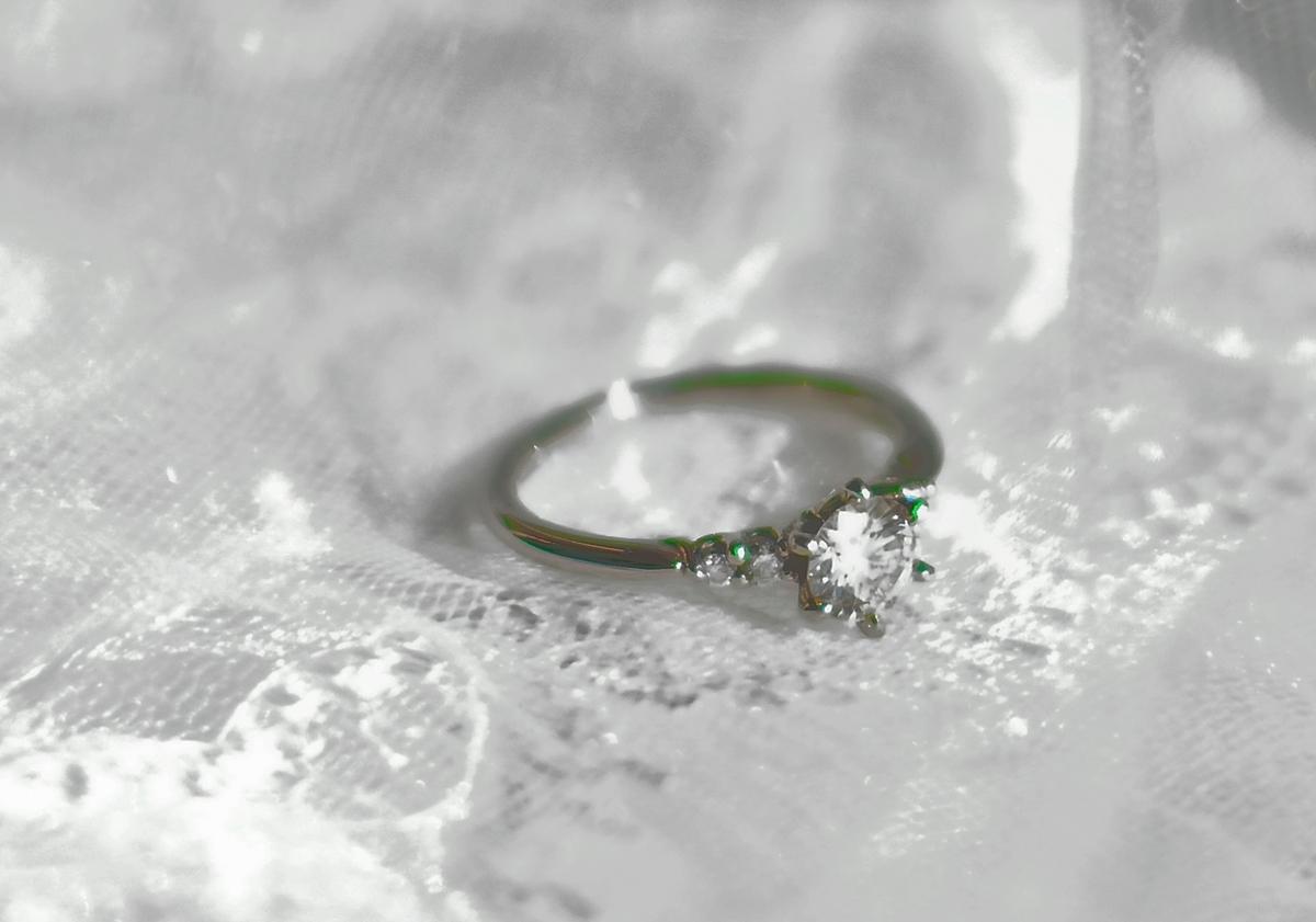 ダイアモンドリングの写真
