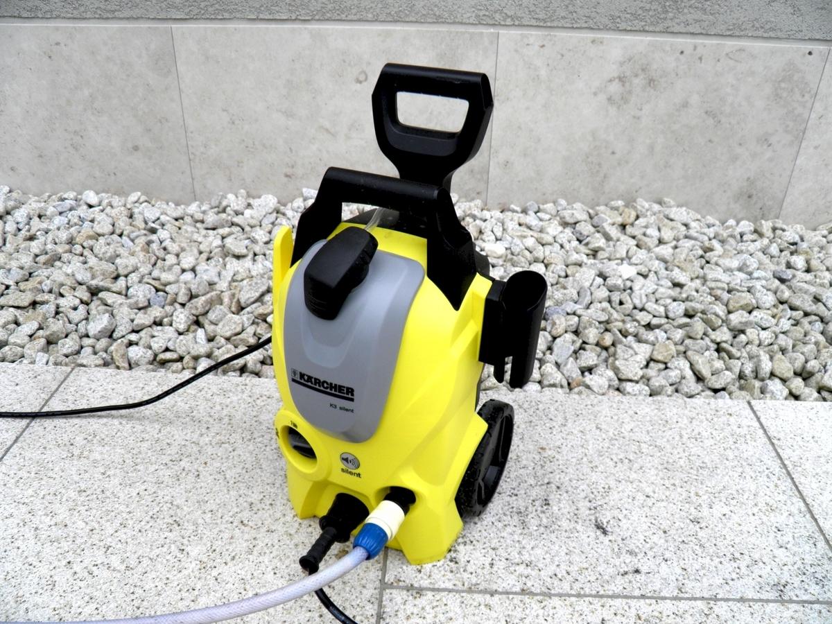 ケルヒャー高圧洗浄機 サイレントベランダK3の写真