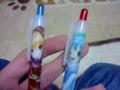 ヤマメのシャーペン、にとりのボールペン