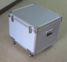 iPad 保管・運搬に特注アルミケース 外装