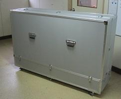 テレビ収納特注大型アルミケース