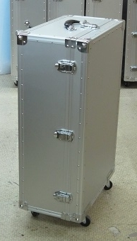 特注精密機器収納アルミケース 錠前