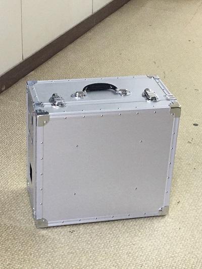 オーダーメイド精密機器収納アルミケース