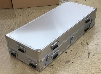 精密機器収納アルミケース 1m