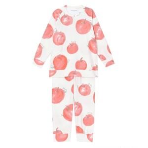 リンゴ柄パジャマ