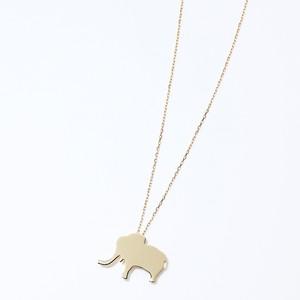 象のネックレス