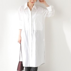白いロングシャツ