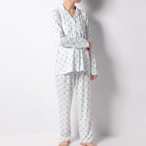 ドット柄パジャマ