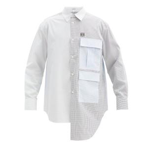 パネルデザインシャツ