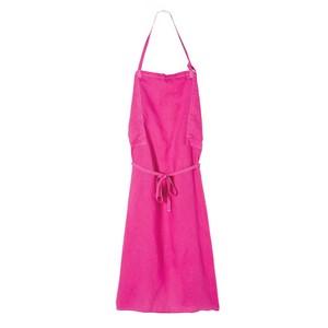 ピンクのエプロン