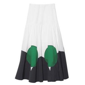 サークルプリントスカート