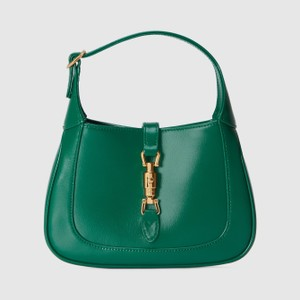 グリーンのショルダーバッグ
