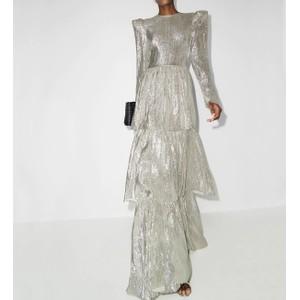 シルバーラメドレス