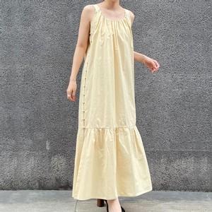 イエローのサマードレス
