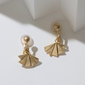 折り紙モチーフイヤリング