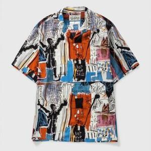 バスキアのハワイアンシャツ