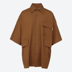 ウール半袖シャツ