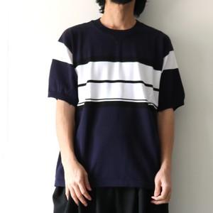 ストライプ柄Tシャツ