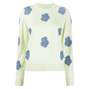 花柄セーター