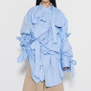 リボンシャツ