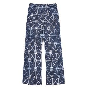 幾何学模様パンツ
