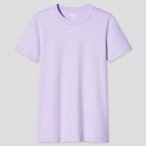 パープルのTシャツ