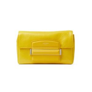 イエローのハンドバッグ