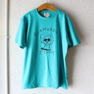 ロゴイラストTシャツ
