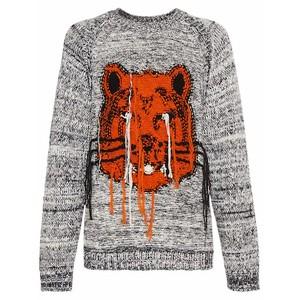 タイガー刺繍セーター