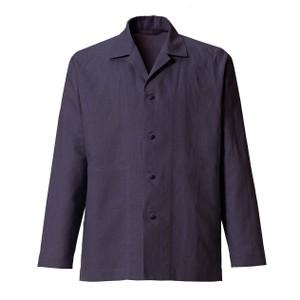 パープルのシャツ