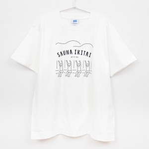 サウナイキタイTシャツ