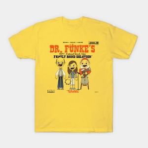 イエローのイラストTシャツ