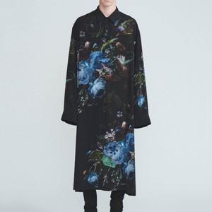 花柄コート