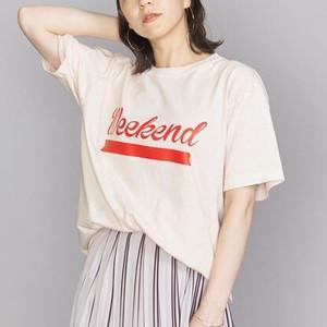 WeekendプリントTシャツ