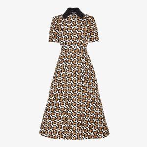 アニマル柄ドレス