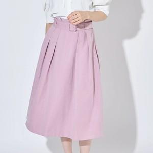 ラベンダーのスカート